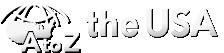 A to Z the USA logo