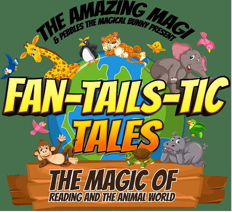 Fan-Tails-Tic Tales: The Magic of Reading and the Animal World