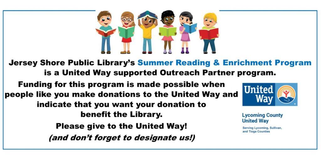 united way - summer reading